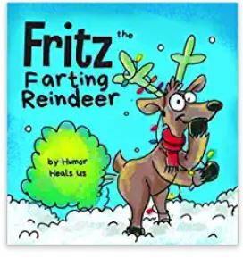 Fritz the Farting Reindeer christmas book