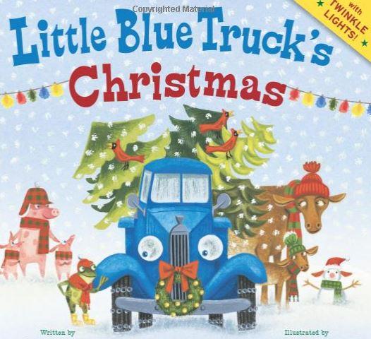 Little Blue Truck Christmas children book