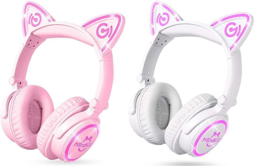 MindKoo cat ear gaming headset