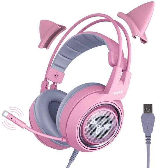 SOMIC cat ear gaming headset