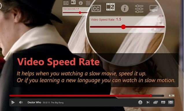 Netflix extension add subtitle