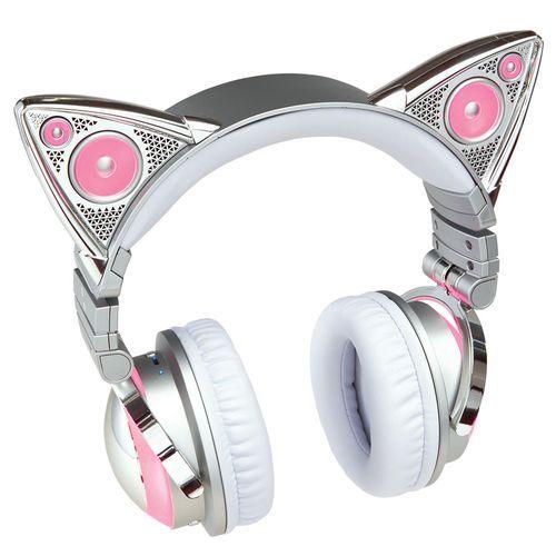 ariana grande cat ear headphones design