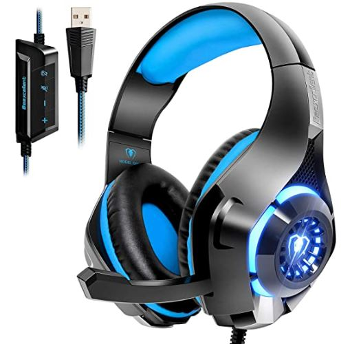 Beexcellent USB Gaming Headphones