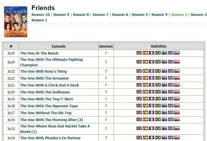 friends season 3 subtitles tvsubtitles