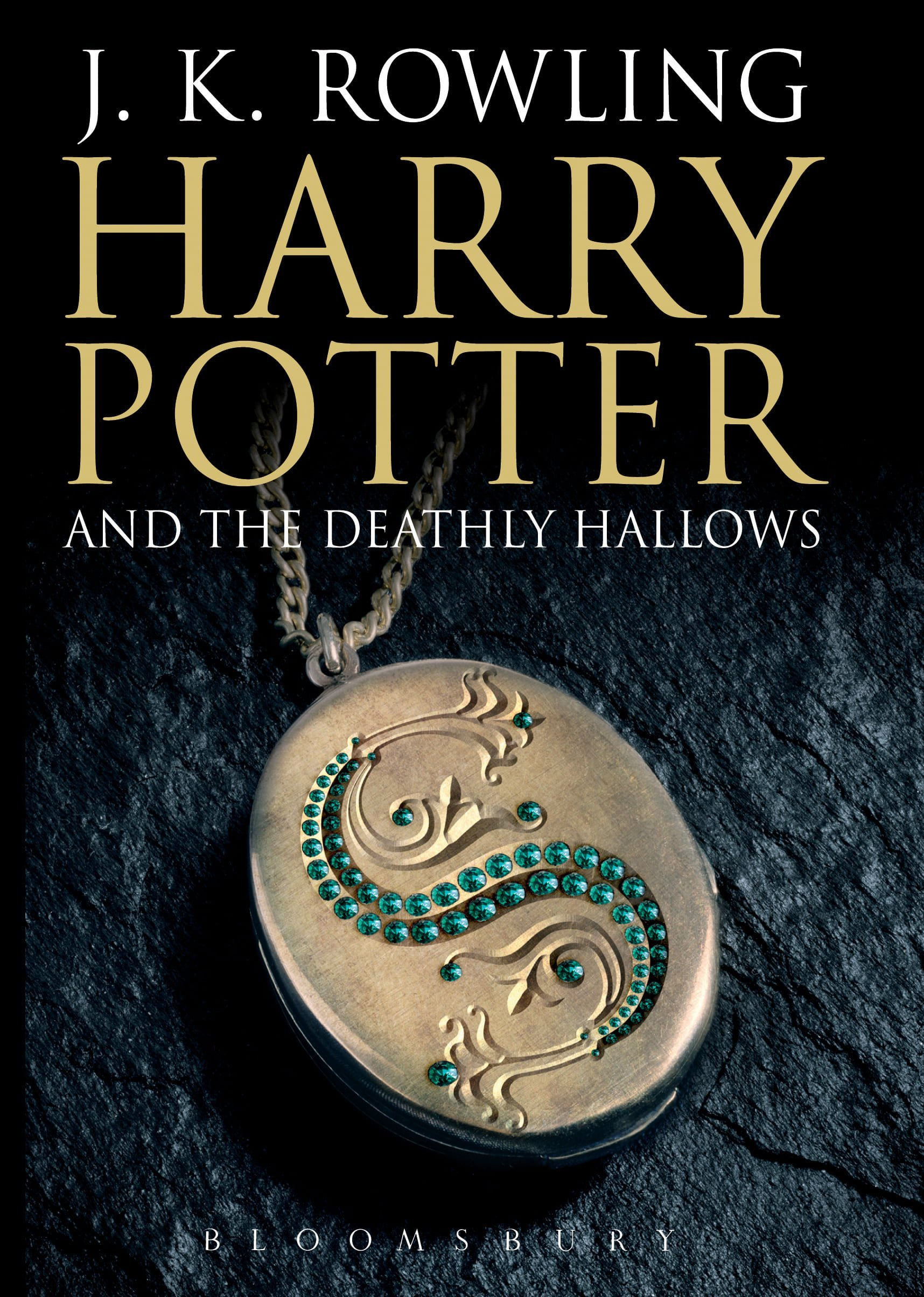Harry Potter and the Deathly Hallows adult Book Cover