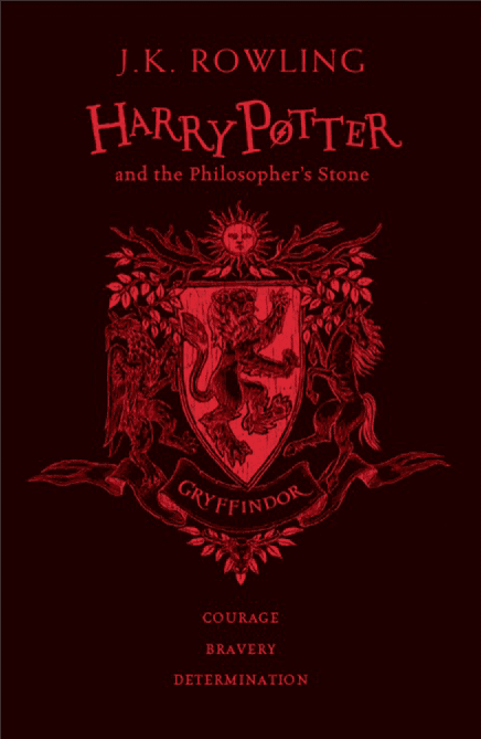 Harry Potter and the Sorcerer's Stone hardback Book Cover
