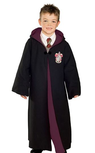 Harry Potter Child' Costume Robe with Gryffindor