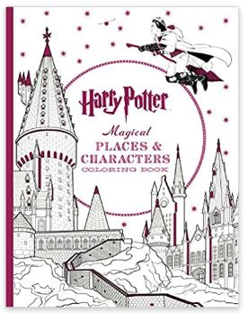 harry potter magical place coloring book