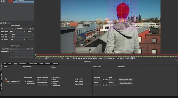 MochaPro motion tracking software