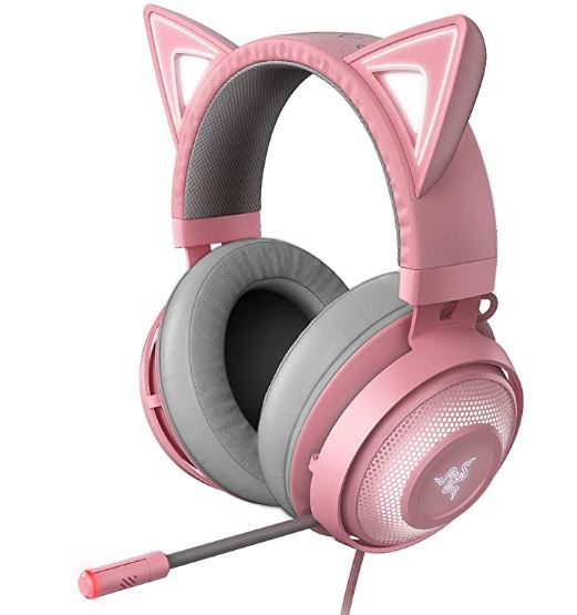 pewdiepie Kitty USB Gaming Headset