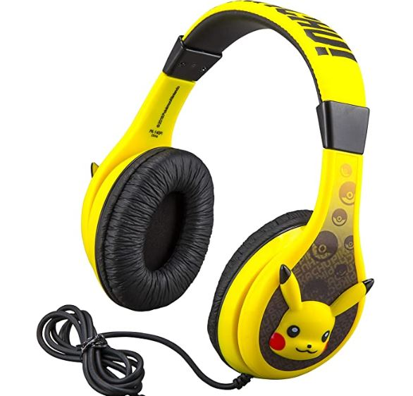 Pokemon Pikachu Anime Headphone