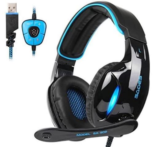 sades usb headphone