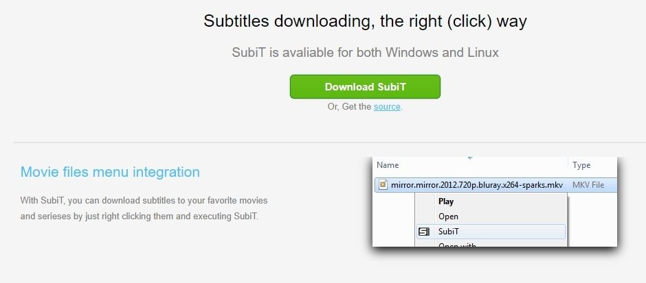 subit subtitle donwloader software
