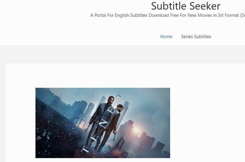 Subtitle Seeker