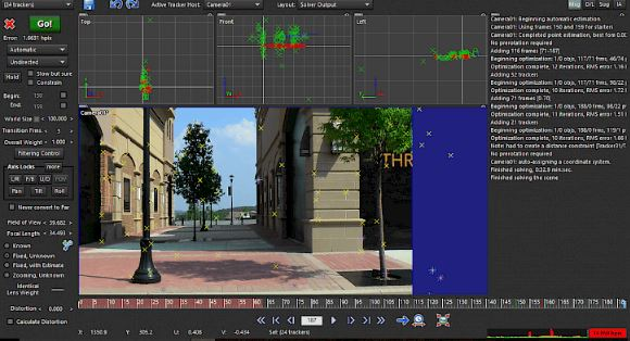 SynthEyes motion tracking software