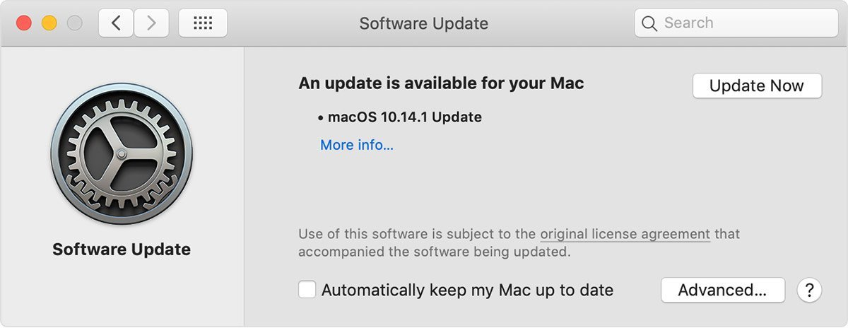 update mac solving mac disconnecting