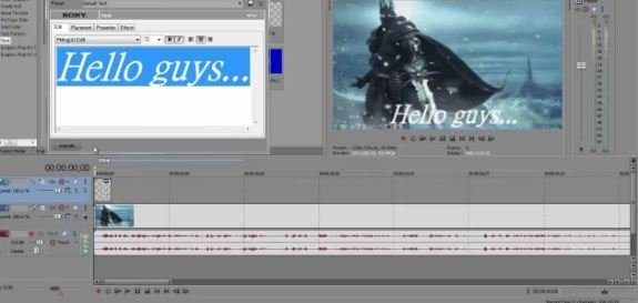 VEGAS PRO 17 motion tracking software
